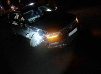 uszkodzony pojazd pijanego kierowcy