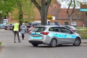 zabezpieczenie drogi dojazdowej patrol